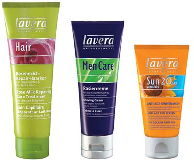 Lavera products