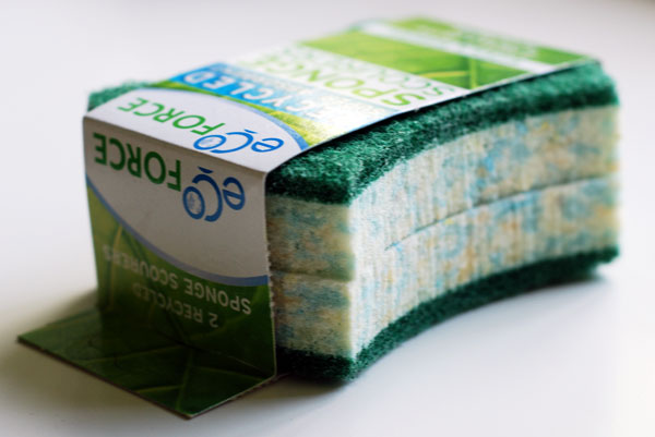 Eco Force recycled sponges
