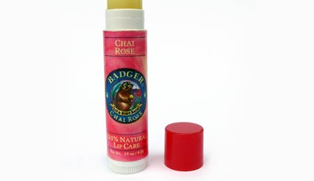 Badger Chai Rose Lip Care Stick - image 1
