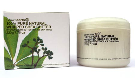 Brown Earth Pure Whipped Shea butter - image 1