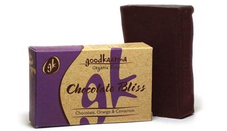 GoodKaarma Chocolate Bliss Organic Soap with Chocolate, Orange & Cinnamon - image 1