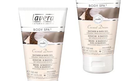 Lavera Body Spa Coconut Dream Shower & Bath Gel - image 1