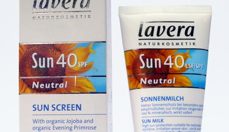 Lavera Neutral Suncream SPF40 - image 1