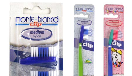 Monte Bianco Natural Bristle Toothbrush Sensitive - image 1