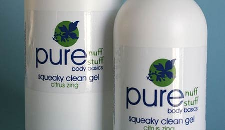 Pure Nuff Stuff Squeaky Clean Sweet Orange and Vanilla Bath & Shower Gel - image 1