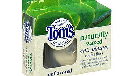 Tom's of Maine Naturally Waxed Antiplaque Floss - image 1