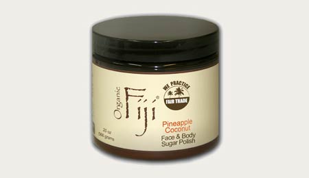 Organic Fiji Pineapple Coconut Face and Body Sugar Polish - image 1